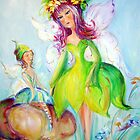 Fairy and friend by Ivana Pinaffo