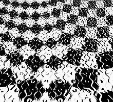Riveting Abstract by Beatriz  Cruz