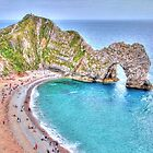 The Classic - Durdle Door - HDR by Colin J Williams Photography