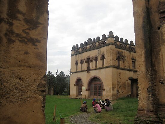 Women at Gondar Castles, Ethiopia by Bonnie MacAllister