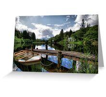 Loch Ard ~ The Trossachs, Scotland Greeting Card