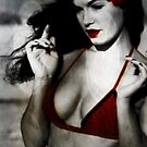 Bettie at the Beach by Suzanne Macon