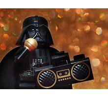 Darth Vader Karaoke Photographic Print