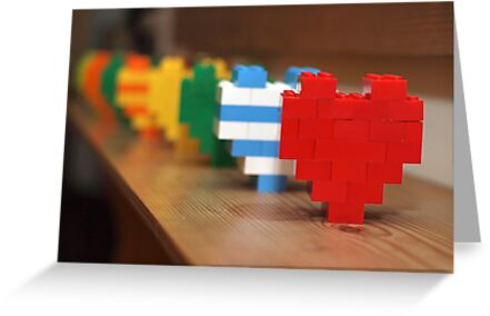 lego hearts by weglet