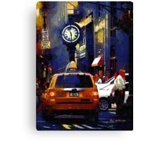 5th Avenue Meltdown Canvas Print