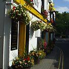 Ship Inn, Melrose by Babz Runcie