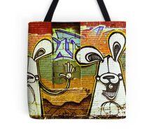 Graffiti Bunnies Tote Bag