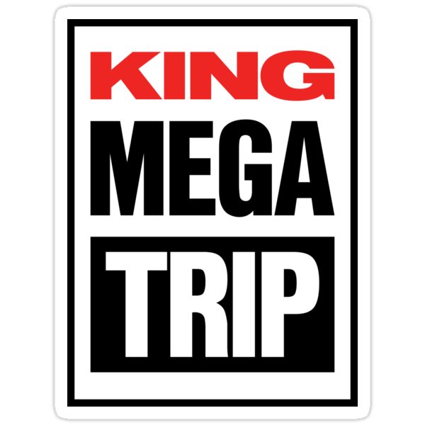 King Megatrip VSW logo (light shirt version) by Megatrip
