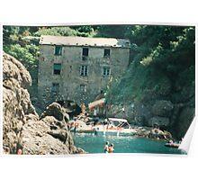 PORTOFINO...la BAIA DI SAN.FRUTTUOSO....ITALY..&VETRINA RB EXPLORE MAGGIO 2014  Poster