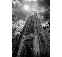 St Mary The Great Church Tower, Cambridge Photographic Print