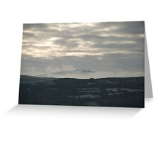 Dunmanus Bay Sunrise Sunset in Ireland 60 Greeting Card