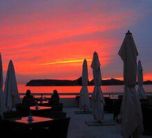 Dubrovnik Sunset by Honor Kyne