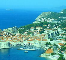 Dubrovnik - The Old Town by Honor Kyne