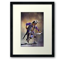 Graceful and Strong Framed Print
