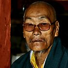 Old Man with a Beard, Bhutan  by Carole-Anne
