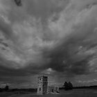 Knowlton Church, B & W. - Compression by delros