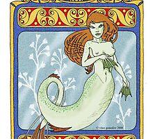 Celtic Mermaid by Vítor  González