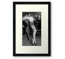 The 50s never left Framed Print
