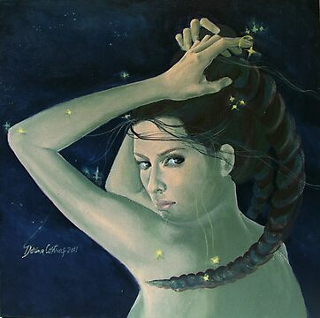 """Capricorn""...from ""Zodiac signs"" series by dorina costras"