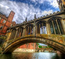 Bridge Of Sighs, Cambridge by Yhun Suarez