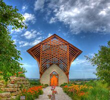 Holy Family Shrine by Jim  Egner