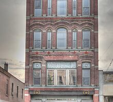 The Beard Building - Cortland, NY by Edith Reynolds