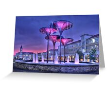 TCU Courtyard Greeting Card