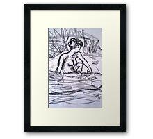 Bathing Beauty II Framed Print