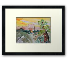 My Pilgrimage to the Holy Land Framed Print