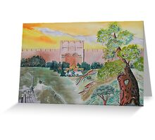 My Pilgrimage to the Holy Land Greeting Card