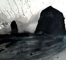 Cannon Beach (study 4) by starheadboy