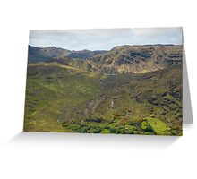 Kerry Mountains Killarney lakes in Ireland 22 Greeting Card
