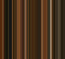 Moviebarcode: Fantastic Mr. Fox (2009) [Simplified Colors] by moviebarcode