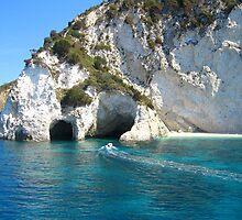 Limestone Caves by Honor Kyne