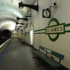 St. James Station, Sydney underground  by DashTravels