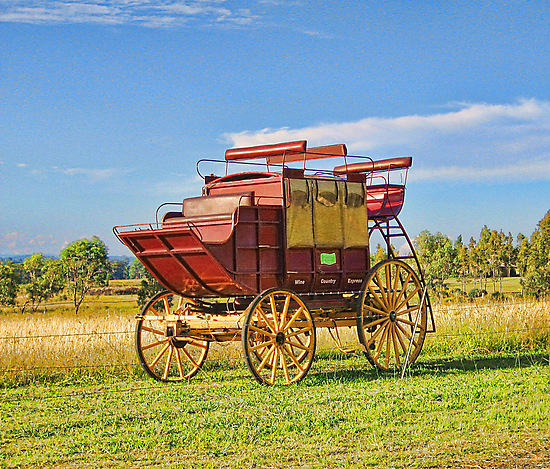 Carriage by Sharon Brown