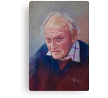 Portrait of Hubert Miller Canvas Print
