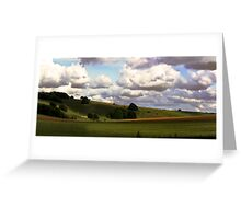 Rolling hills 2 Greeting Card