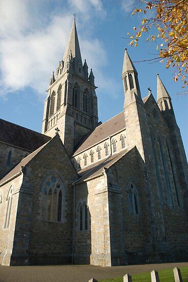 St Mary's Cathedral Killarney Kerry by Georgia Conroy