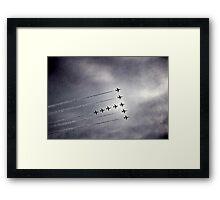 In Formation Framed Print