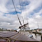 Bow of the Dunbrody Tall Ship, New Ross, County Wexford, Ireland by Andrew Jones