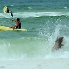 Fun In The Surf Destin, Florida Beach by BenSellars