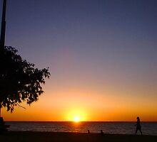 Sunset City Beach Three by Robert Phillips