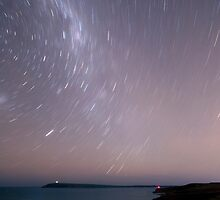 Cape Woolamai Star Trails by Timo Balk