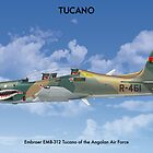 Embraer Tucano Angola 1 by Claveworks