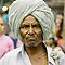 An elderly person, in palkhi procession ! by neneaniket