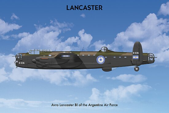 Avro Lancaster B1 Argentina 1 by Claveworks