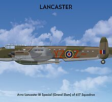 Avro Lancaster B1 617 Sqn 3 by Claveworks