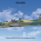 Embraer Tucano Argentina 1 by Claveworks