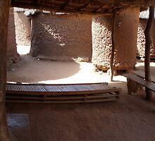 Courtyard in Mahon, Burkina Faso by mjohnston